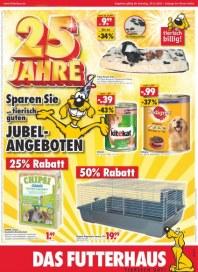 Futterhaus Sparen Sie mit tierisch guten Jubel-Angebote Oktober 2012 KW44
