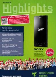 mobilcom-debitel Highlights November 2012 KW44