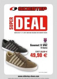 Sidestep Super Deal November 2012 KW45