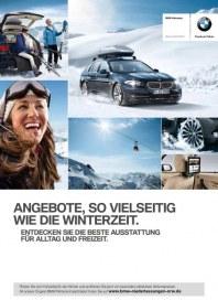 BMW AG Niederlassungen NRW Angebote, so vielseitig wie die Winterzeit 2012 September 2012 KW39
