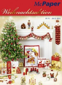 McPaper Weihnachtsaktion November 2012 KW44