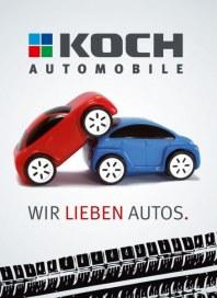 Koch Automobile Wir lieben Autos November 2012 KW45
