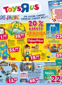 Toys'R'us 20%-Rabatt November 2012 KW45