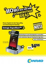 Conrad Sensationelle Aktions-Angebote November 2012 KW45