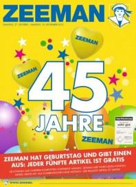 Zeeman Aktuelle Angebote November 2012 KW44
