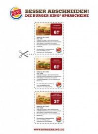 BURGER KING Burger King Gutschein 1 November 2012 KW44