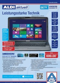 Aldi Nord Technikflyer November 2012 KW45