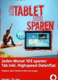 Vodafone Mehr Tablet Mehr Sparen November 2012 KW45