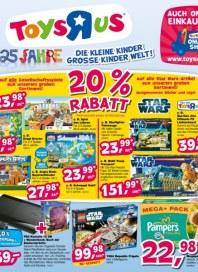 Toys'R'us 20% Rabatt November 2012 KW46