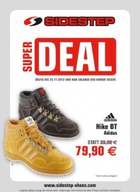 Sidestep Super Deal November 2012 KW46 1