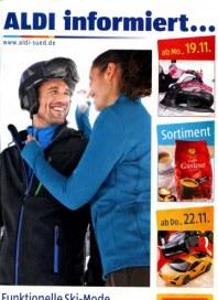 Aldi Süd Funktionelle Ski-Mode - perfekt für die Piste November 2012 KW47
