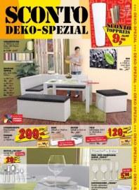 Sconto Deko Spezial November 2012 KW45