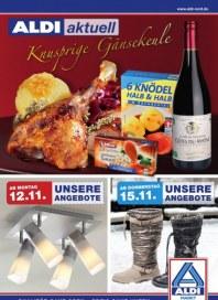 Aldi Nord Aktueller Wochenflyer November 2012 KW46 1