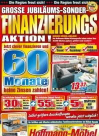 Hoffmann Möbel Grosse Jubiläums-Sonder-Finanzierungs-Aktion November 2012 KW46
