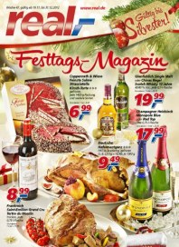 real,- Festtags-Magazin November 2012 KW47