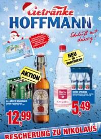 Getränke Hoffmann Bescherung zu Nikolaus November 2012 KW47
