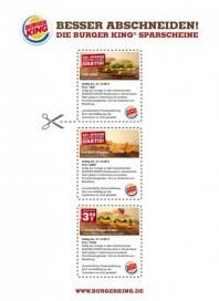 BURGER KING Burger King Gutschein 1 November 2012 KW46 1