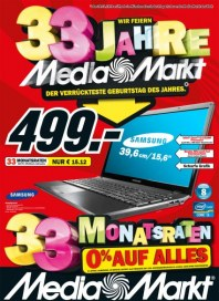 MediaMarkt Wir feiern 33 Jahre November 2012 KW47