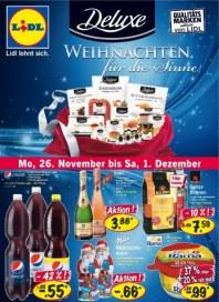Lidl Aktueller Wochenflyer Lebensmittel November 2012 KW48