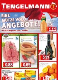 Tengelmann Eine Mütze voll Angebote November 2012 KW48