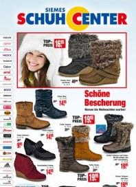 SIEMES Schuhcenter Schöne Bescherung November 2012 KW48