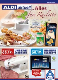 Aldi Nord Alles fürs Raclette Dezember 2012 KW49