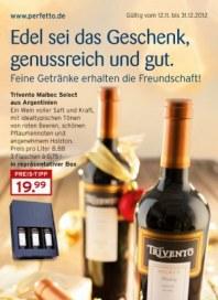 Perfetto Karstadt Edel sei das Geschenk, genussreich und gut Weihnachten 2012 November 2012 KW48