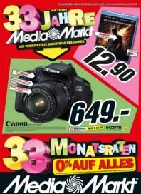 MediaMarkt Wir feiern 33 Jahre Media-Markt November 2012 KW48