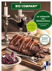 Bio Company So schmeckt nur Weihnachten 2012 November 2012 KW48