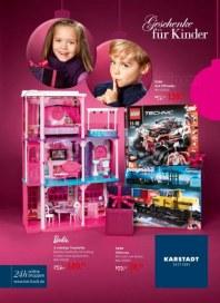 KARSTADT Geschenke für Kinder November 2012 KW48