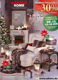 Rahaus Weihnachtsartikel November 2012 KW48