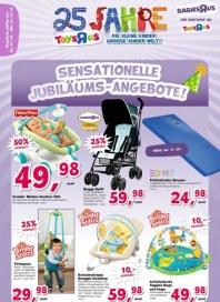 Toys'R'us Sensationelle Jubiläums-Angebote Dezember 2012 KW48