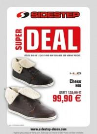Sidestep Super Deal Dezember 2012 KW48
