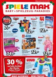 Spiele Max Maxi Auswahl - Mini Preise Dezember 2012 KW49