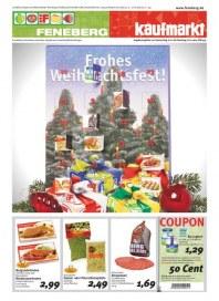 Feneberg Frohes Weihnachtsfest Dezember 2012 KW49
