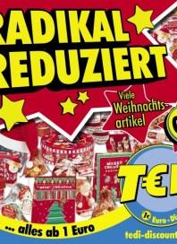 Tedi Radikal reduziert Dezember 2012 KW50