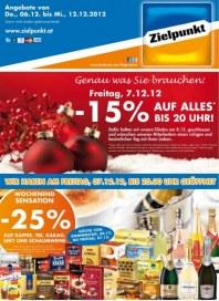 Zielpunkt Zielpunkt Angebote 06.12.-12.12.2012 Dezember 2012 KW49