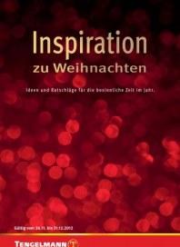 Tengelmann Inspiration zu Weihnachten Dezember 2012 KW49