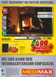 MediMax Bei uns kann der Weihnachtsmann einpacken Dezember 2012 KW49 2