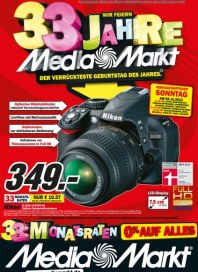 MediaMarkt Wir feiern 33 Jahre Dezember 2012 KW49