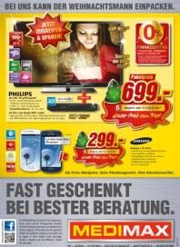 MediMax Fast geschenkt bei bester Beratung Dezember 2012 KW49
