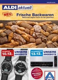 Aldi Nord Frische Backwaren Dezember 2012 KW49