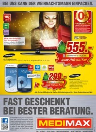 MediMax Fast geschenkt bei bester Beratung Dezember 2012 KW50 1