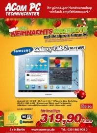 Acom PC Die Weihnachtsangebote Dezember 2012 KW50
