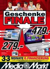 MediaMarkt Geschenk Finale Dezember 2012 KW50