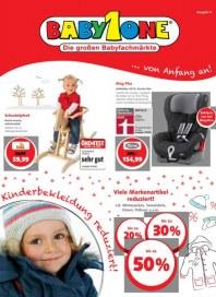 BabyOne Kinderbekleidung reduziert Dezember 2012 KW50