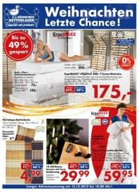 Dänisches Bettenlager Aktuelle Angebote Dezember 2012 KW50