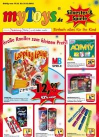 myToys.de Große Knaller zum kleinen Preis Dezember 2012 KW51
