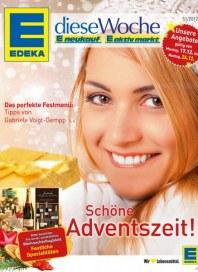 Edeka Schöne Adventszeit Dezember 2012 KW51