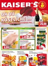 Kaiser's Oh du Köstliche Dezember 2012 KW51